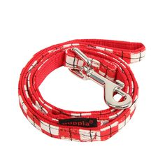 PUPPIA Authentic Mystical Matching Lead Pet Leash, Large, Red * Hurry! Check out this great product : Dog leash