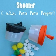 Mini Marshmallow Shooter {Cool Craft}