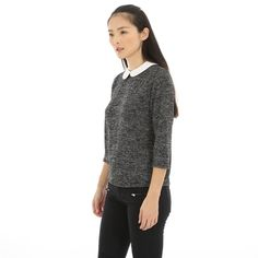 Pull col claudine - Collection Pulls manches longues - Pimkie France