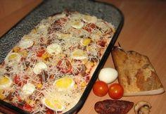 Pork Recipes, Pizza, Eggs, Breakfast, Food, Morning Coffee, Essen, Egg, Eten