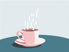 Morning Coffee designed by Patricia Martinez . the global community for designers and creative professionals. Coffee Design, Morning Coffee, Design Inspiration, Graphic Design, Tableware, Creative, Breakfast, Dinnerware, Dishes