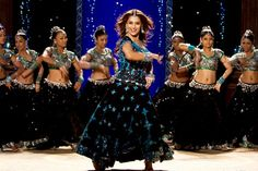 Aaja Nachle - Come on, Dance!  Madhuri Dixit is a supurb dancer, one of the best in Bollywood, and she shines in this movie. From the toe-tapping title song to the truly dramatic stage production at the end, you'll be with this movie all the way. And seriously, come on and DANCE!!