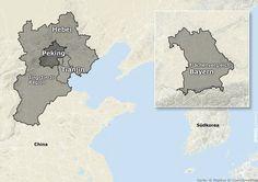 Der Name des Projekts lautet Jing-Jin-Ji,  ein aus den Städtenamen Beijing,...