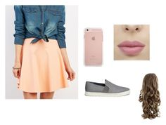 """""""Untitled #158"""" by samanthalee400 ❤ liked on Polyvore featuring Charlotte Russe and Vince"""