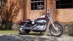 Harley Davidson 883 - Local da foto Paranapiacaba