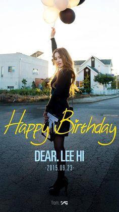YG Entertainment celebrates Lee Hi's birthday! | allkpop