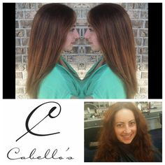 How incredible is this #transformation! @val4b82 made this #before and #after one for the books! Call 850-575-7529 to book with her! #cabellossalon #cabellostally #tally #hairsalon #salon #spa #hair @behindthechair_com @modernsalon @redken5thave #redken #beforeandafter #smoothhair #frizz #love #styleyourstory