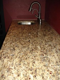 I think these are the counters we're getting. Giallo Veneziano, Brazillian granite.