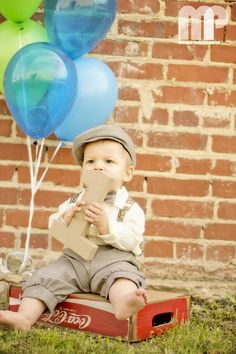 Baby & Child photography - Andrew 1st birthday photo https://www.facebook.com/MorrisFamilyPhotography