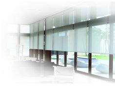 Products - Lighting & Shade Control - Roller Shade Systems [Crestron Electronics, Inc. Motorized Shades, Home Tech, Roller Shades, House Windows, Window Ideas, Light Shades, Smart Home, Electronics, Lighting