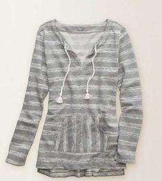 Aerie Bonfire Popover.  A layer for snuggled up sexy! #Aerie