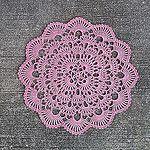 Winter's Breath Free Crochet Doily Pattern