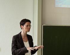 Sandra Heidemann von der Deutsche Telekom Stiftung sprach in ihren Grußworten vom Projekterfolg der JIA und dem Leuchtturmcharakter für nachfolgende Projekte