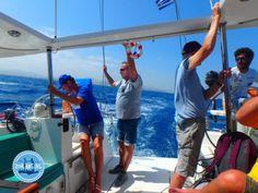 Sailing to Dia (Heraklion) Sailing Holidays, Heraklion, Crete Greece, Gym, Sailing, Gym Room