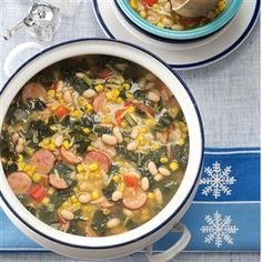 30 Soup Recipes to Make This Winter - Warm up on the chilliest of winter nights with these soup, stew and chili recipes. Filled with vegetables, meat, potatoes, beans and more hearty ingredients, bowls will be brimming with flavor in every spoonful.