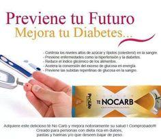Controla tu nivel de azúcar y grasa en la sangre #TENOCARB