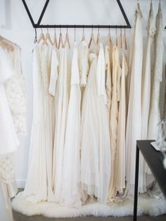 A peek into the new LOHO Bride Los Angeles boutique to inspire your cool bridal style: Wedding Designs, Wedding Styles, Bridal Dresses, Wedding Gowns, Wedding Bells, 2017 Bridal, Bridal Stores, Bridal Fashion Week, Wedding Dress Shopping