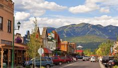 Our Glacier National Park hiking tour begins in Whitefish, #Montana
