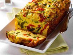 Omelette aux légumes...dans un moule à pain - Recettes - Ma Fourchette