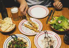 Break away from the traditional with Lebanese pizza. Restaurant, Ethnic Recipes, Food, Diner Restaurant, Essen, Meals, Restaurants, Yemek, Eten