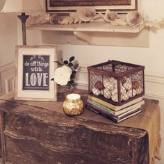 Little Farmstead: A Touch of Valentine's Decor ~ For Free!