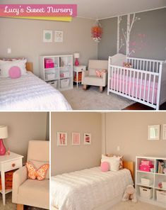 Lucy's Sweet Nursery | Featured on Chic & Cheap Nursery