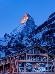 Unter dem imposanten Matterhorn: das Backstage Boutique Hotel | Zermatt | Schweiz | Schöne Aussichten