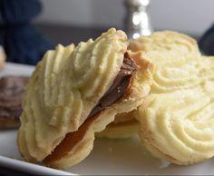 Weihnachtspltzchen nussecken Weihnachtspltzchen Re - christmascookies Sweets Recipes, Fall Recipes, German Desserts, German Recipes, Bakery Muffins, German Cookies, Cake Cover, Fall Desserts, Cakes And More