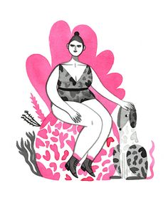 Monica Garwood - The Dalmatian Sitter