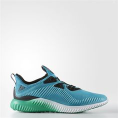 a0abb13fa Adidas alphabounce Shoes (Energy Blue   Running White Ftw   Core Green) Nmd  R1