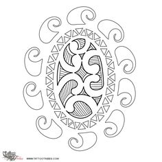 Tatuaggio di Sole Maori, Eternità, vita tattoo - custom tattoo designs on TattooTribes.com