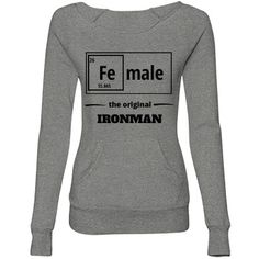 Female the original Ir Sweat | Female the original ironman Sweatshirt