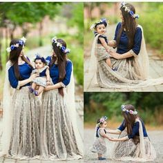 25 Coolest Matching Outfits For Pakistani Mother Daughter - Part 2 Mom Daughter Matching Dresses, Mom And Baby Dresses, Girls Dresses, Mother Daughter Fashion, Mother Daughters, Outfit Trends, Kids Outfits, Bridesmaid Dresses, Bridesmaids
