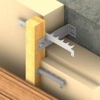 Fixations Isolant et bardage - Isolation Thermique par l'Extérieur - Simpson Strong-Tie®