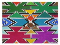 Some inspiration for DIY art at home- missing Africa Painting Lessons, Art Lessons, African Art Projects, African Theme, African Style, Art Sur Toile, Art Premier, African Textiles, African Patterns