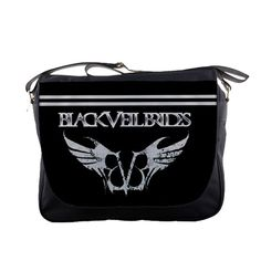 "New Black Veil Brides Logo BVB Custom Messenger School Laptop Notebook Bag 14""  #MessengerShoulderBag"