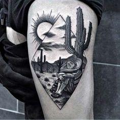 erkek üst bacak dövme modelleri man thigh tattoos 18
