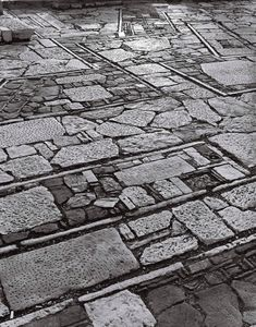 "rcruzniemiec: "" Dimitris Pikionis, Landscaping of the Acropolis Surrounding Area, Athens, Greece, 1957 Photography by Helene Binet "" Garden Stones, Garden Paths, Garden Art, Garden Design, Landscape Elements, Urban Landscape, Landscape Design, Landscape Steps, Modern Landscaping"