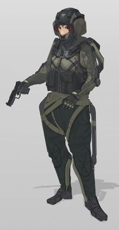 Quick response force and breaching  type of autonomous exosuit design I do for my design class and personal project. Character based off my friend Yeeun. Gangnam Reconnaissance and Espionage - Law Enforcement working directly with Project Hansel of GSG9.