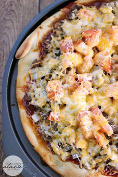Cheeseburger Pizza | simplystacie.net | #pizza