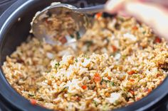 Cook-up rice is one of Guyana's national dishes. Learn how to make it with chicken parts and peas or beans of choice. It's a great one-pot meal. Rice Recipes, Vegetable Recipes, Indian Food Recipes, Chicken Recipes, Dinner Recipes, Cooking Recipes, Healthy Recipes, Ethnic Recipes, Yummy Recipes