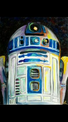 R2D2 is sooo cute. My favorite character from Star Wars<3