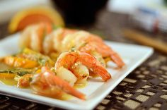 Orange Peel and Citrus Shrimp with Tarragon--Use lard or coconut oil in place of ghee and omit sesame seeds