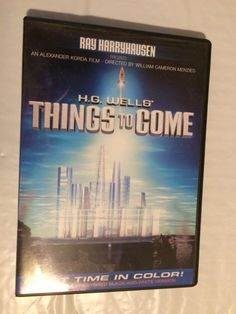 Things to Come Ray Harryhausen (DVD, 2008) With Extras Full Frame