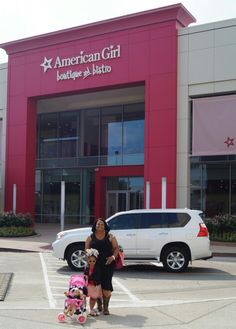 Can't wait to get back to American Girl Doll Store Dallas again.