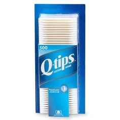Okay, I can't go one day without q-tips.  These are a must-have.  And generic brands are out of the question - don't even bother!