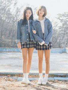 #korean #koreanfashion #style #twin