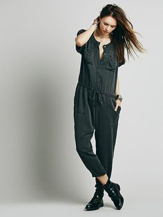 Free People Soft Utility Jumpsuit at Free People Clothing Boutique