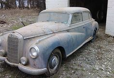 Solider Owned: 1953 Mercedes 300 Adenauer - http://barnfinds.com/solider-owned-1953-mercedes-300-adenauer/