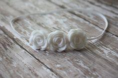 need to copy this idea for DIY felt flower baby headband